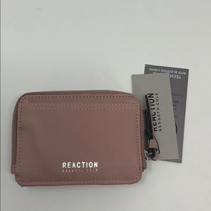 Kenneth Cole Reaction RFID Wallet Card Case New